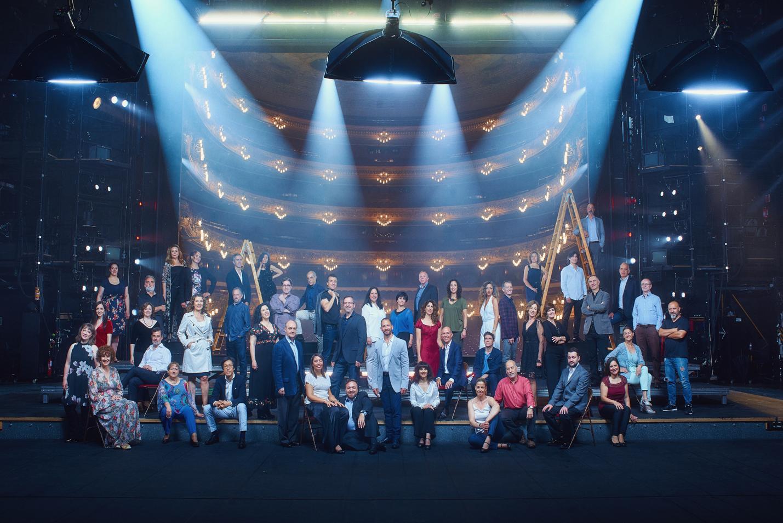 Cor del Gran Teatre del Liceu (© Paco Amate)